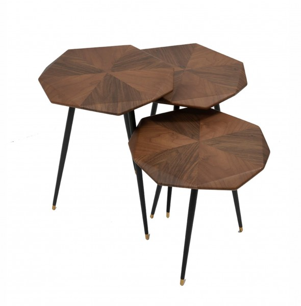 Yahu Side Tables (Set of 3)